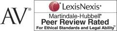 Martindale-Hubbell AV Peer Review Rated