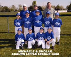 Auburn Little League 2008